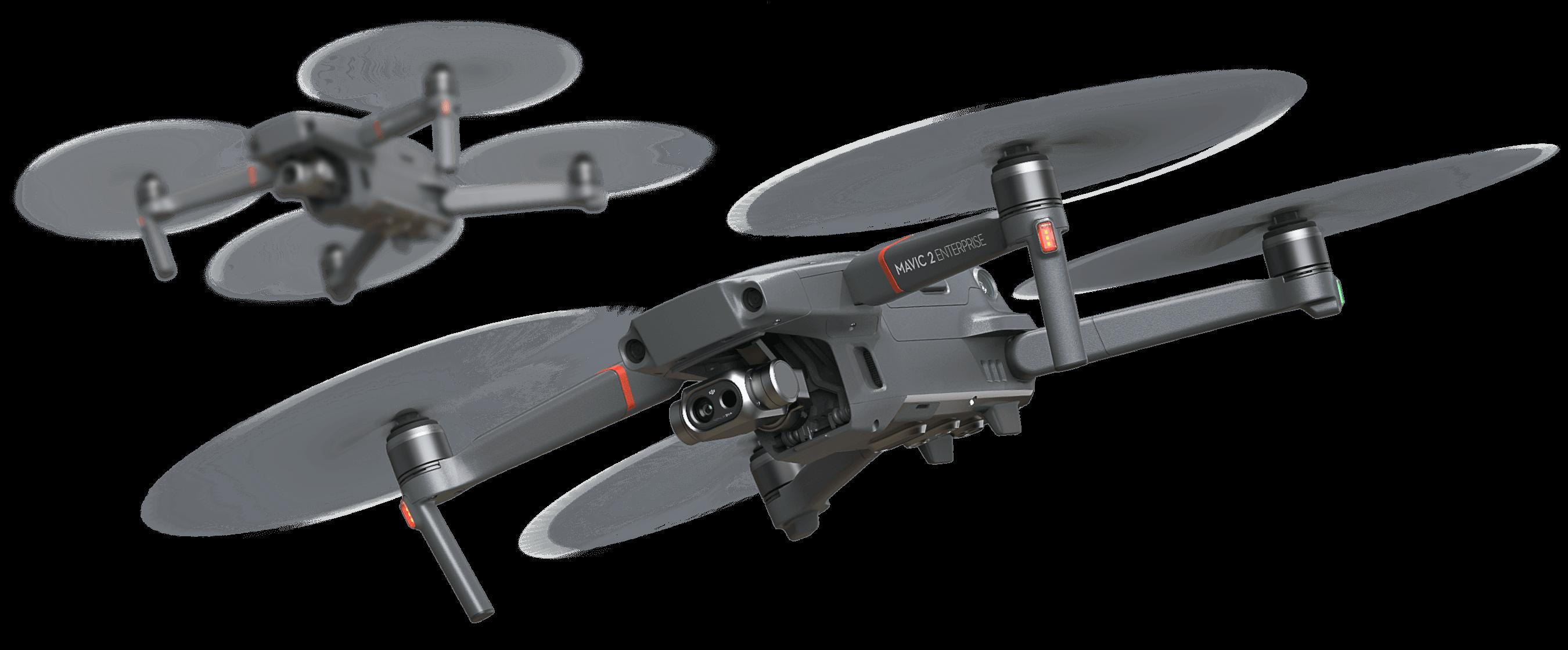 赤外線カメラを搭載した産業用ドローン DJI Mavic 2 Enterprise Dual が発売