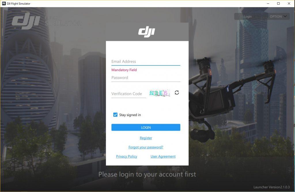 高精度なDJI社のシュミレーター ・ DJI フライトシミュレーターの解説